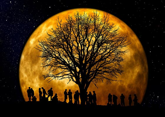 Гипотезы о жизни на Луне в древности