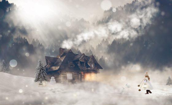 Природа цвета снега