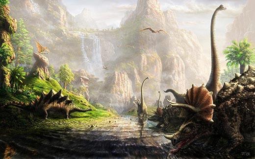 Почему вымерли динозавры? Когда это произошло?
