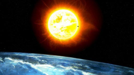 Солнце вращается вокруг чего