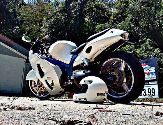 Suzuki Hayabusa GSX1300R. Самые быстрые мотоциклы в мире