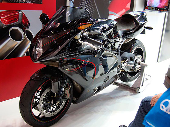 Самые быстрые мотоциклы в мире. MV Agusta F4 CC