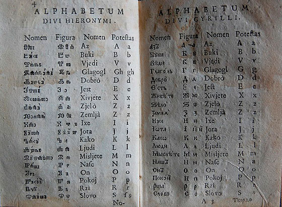 Кто придумал русский алфавит?