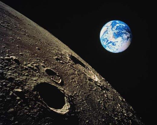 Что больше - Луна или Земля?