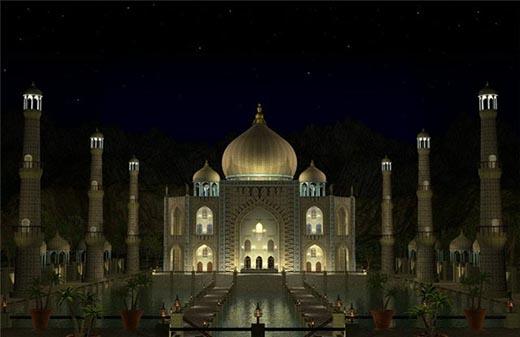Что такое Тадж-Махал и в каком городе он находится?