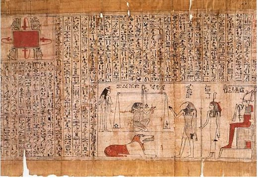 Что такое папирус и из чего его делали?