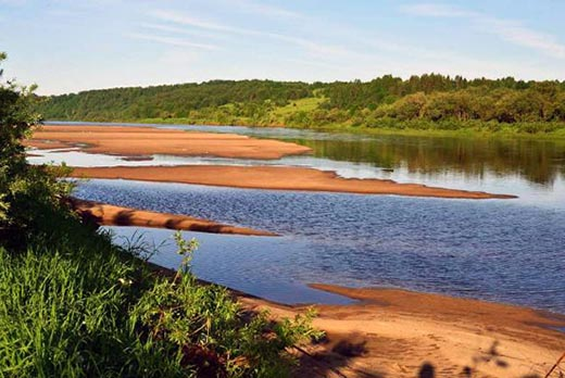 Что такое межень реки в географии?