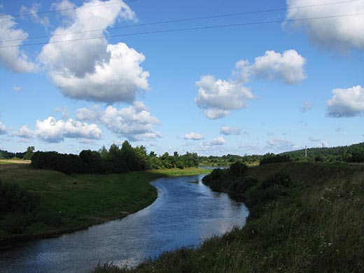 Что такое речная система в географии?