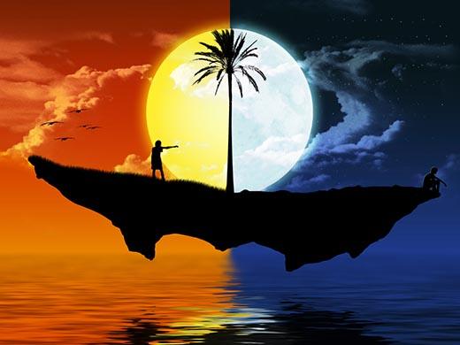 Почему день и ночь сменяют друг друга?