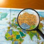 Что такое масштаб карты в географии?