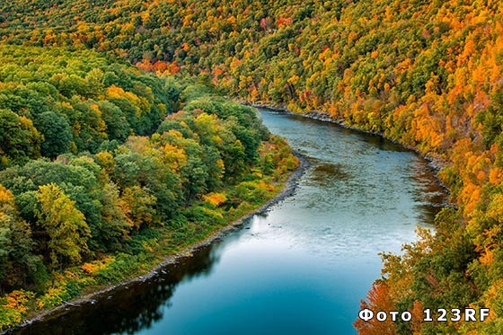 Что такое река в географии?