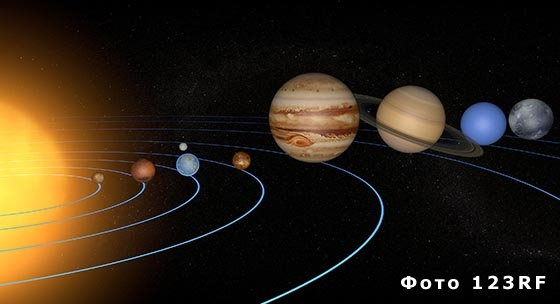 Как называется путь вращения планеты вокруг Солнца?