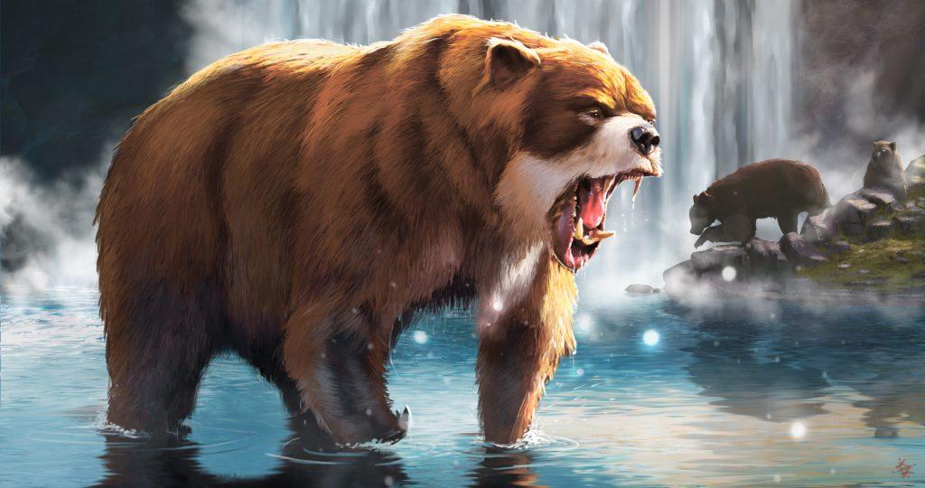АрктодусСимус: гигантский медведь