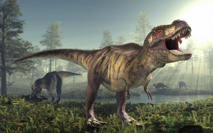 питание тиранозавра
