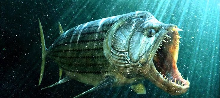 Морские монстры мелового периода. Ксифактин — рыба-убийца
