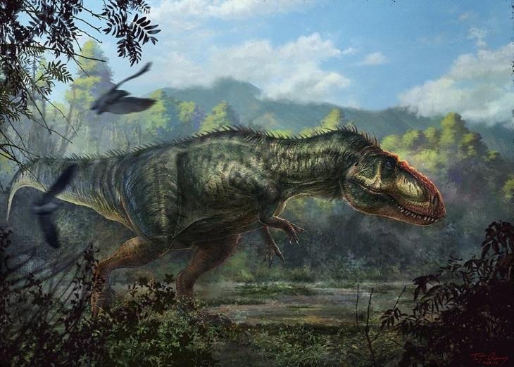 Ископаемые находки гиганотозавра