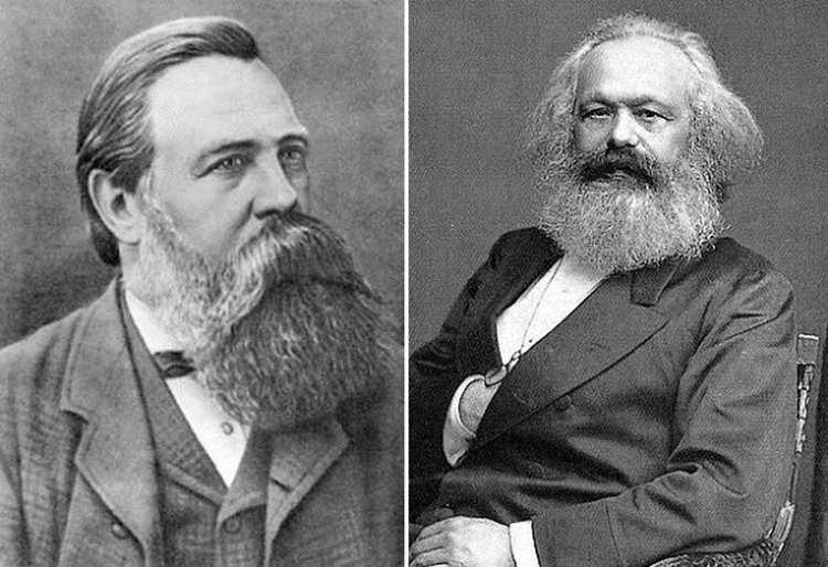 Энгельс и Маркс