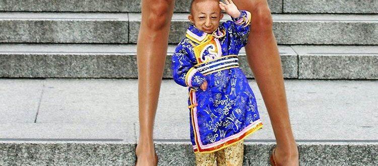 Хе ПингПинг, самые маленькие люди на свете