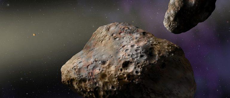 самые большие астероиды