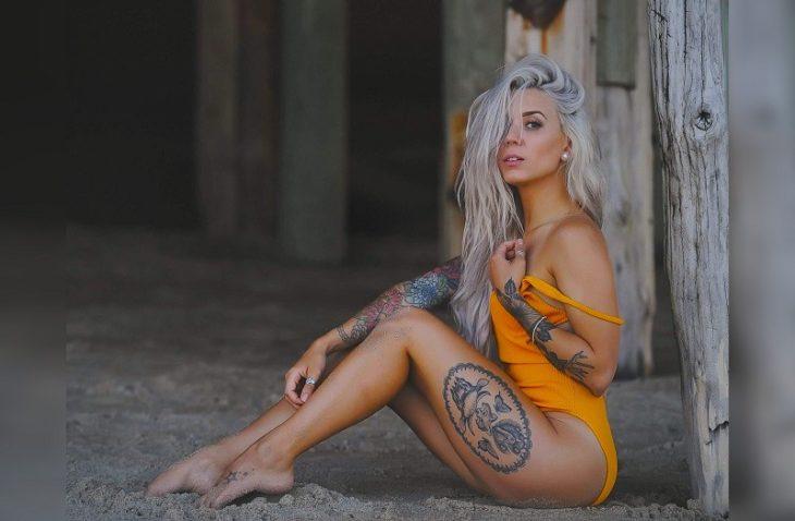 30 самых горячих татуированных красоток